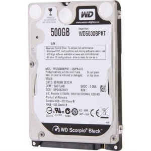 "500GB 2.5"" 16MB 7200 WD Black"